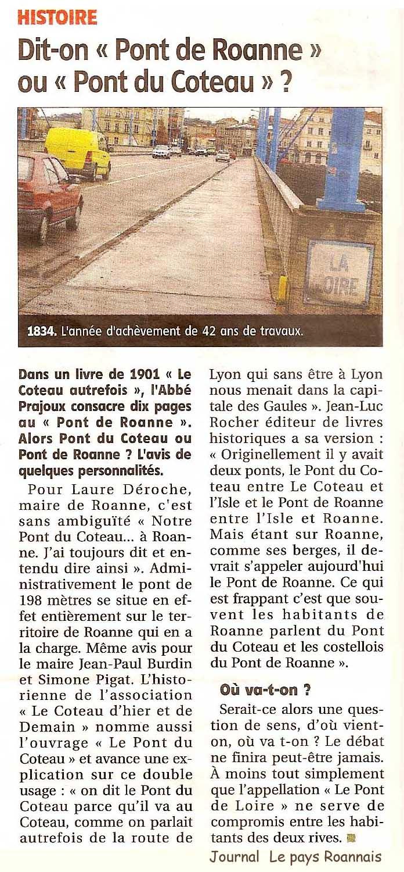 RN7 Roanne Sud le-pont-du-coteauou-pont-de-roanne