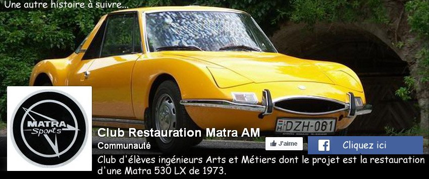 Club restauration Matra 530