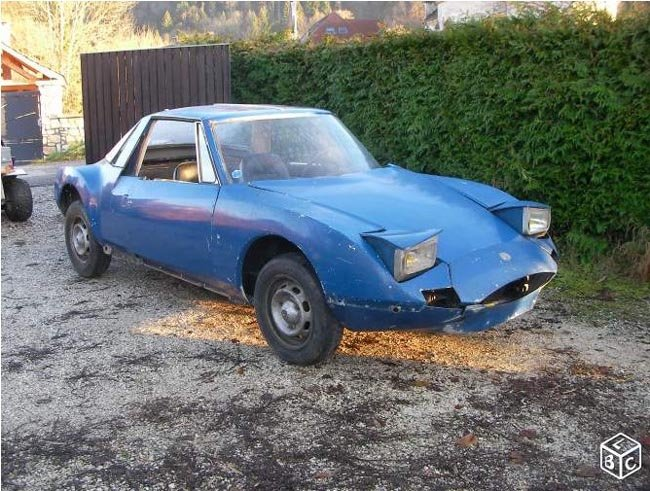 en restauration Matra 530 1969