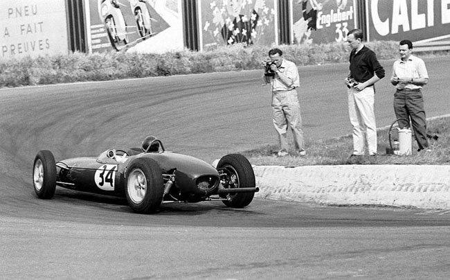 1961 Jim Clark  Lotus 21 climax Spa Francorchamps