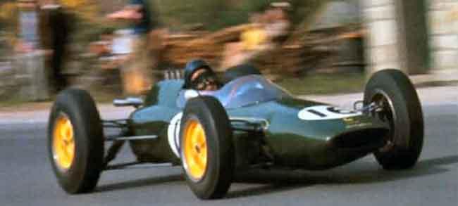 1962 Lotus Climax 25 Spa-Francorchamps 17 Juin 1962 Première victoire de Jim Clark