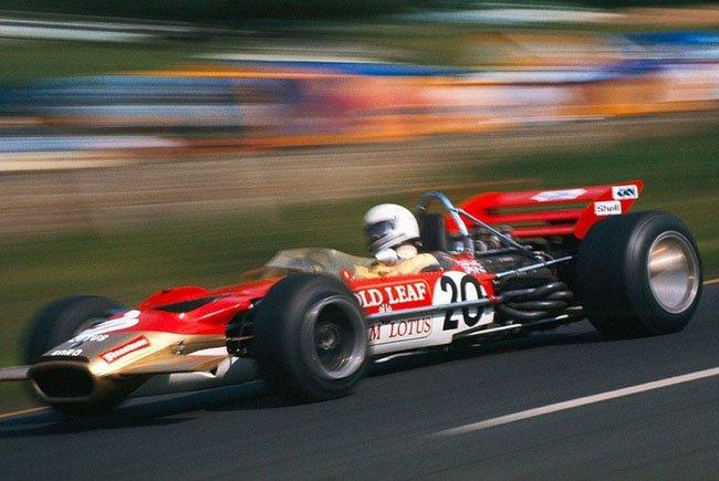 1970  Jochen Rindt Gold Leaf Team Lotus  Lotus 49C   Ford-Cosworth DFV 3.0 V8  Belgian Grand Prix Circuit de Spa-Francorchamps