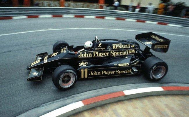 1983 Elio de Angelis John Player Team Lotus Lotus 93T - Renault V6 ...983-e10