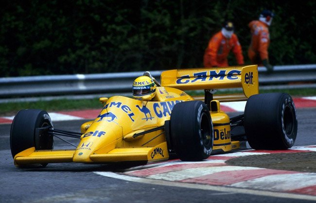 1987 Ayrton Senna - Lotus 99T spa
