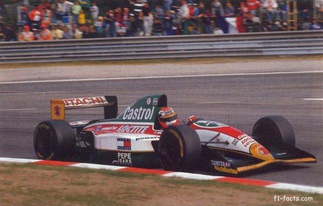 1993 Johnny Herbert Lotus 107B Spa Francorchamps