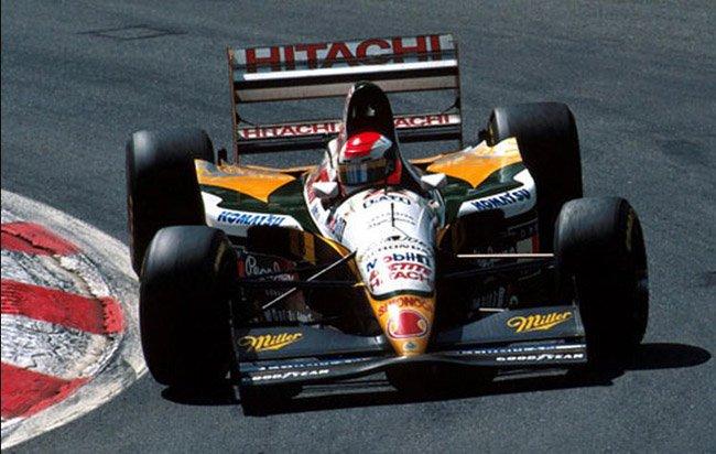28 Août 1994 Spa Johnny Herbert Lotus 109 Dernière fini 12ème