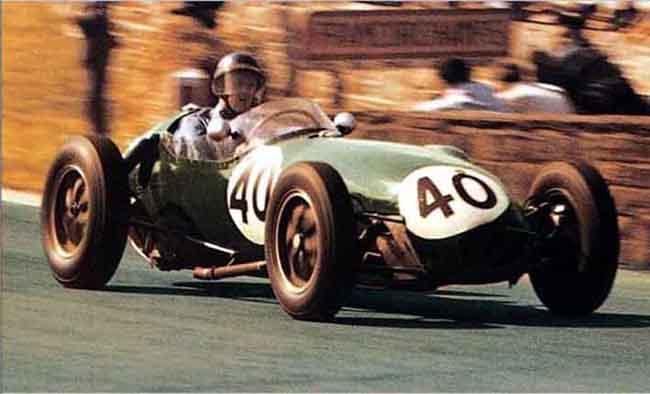 Cliff Allison Spa Francorchamps 1958 Lotus 12