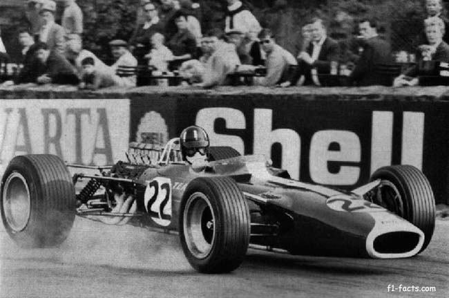 f1-facts.com Graham hill spa francorchamps 1967