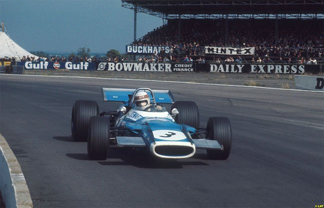 Jackie Stewart - Matra International - Matra MS80 - GP de Gran Bretaña 1969 (Silverstone)