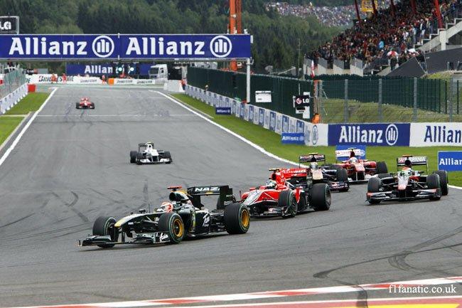 Jarno Trulli, Lotus, Spa-Francorchamps, 2010