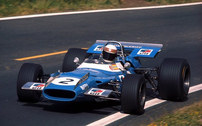 ackie Stewart, Matra-Ford MS80, 1969 French Grand Prix, Clermont Ferrand