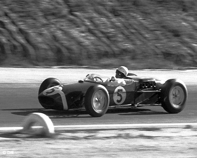 1960 GP Etats-Unis Stirling Moss Lotus 18 climax