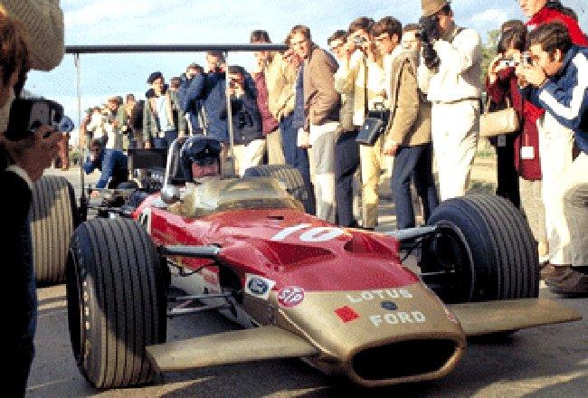 1968 GP des USA Watkins Glen Graham Hill 49B