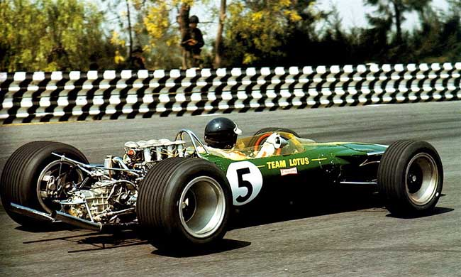 Lotus 49 R1, Jim Clark, Mexico 1967