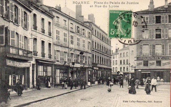 Roanne palais de justice 1910