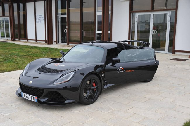 Lotus Exige S en mode propulsion Electrique