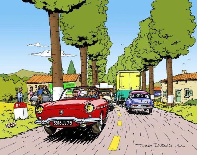 aujourd-hui-l-association-aire-n7-veut-faire-redecouvrir-aux-automobilistes-la-grande-epoque-de-la-route-bleue-dessin-thierry-dubois