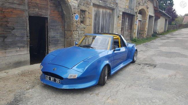 Matra 530 LX de1972 bleu