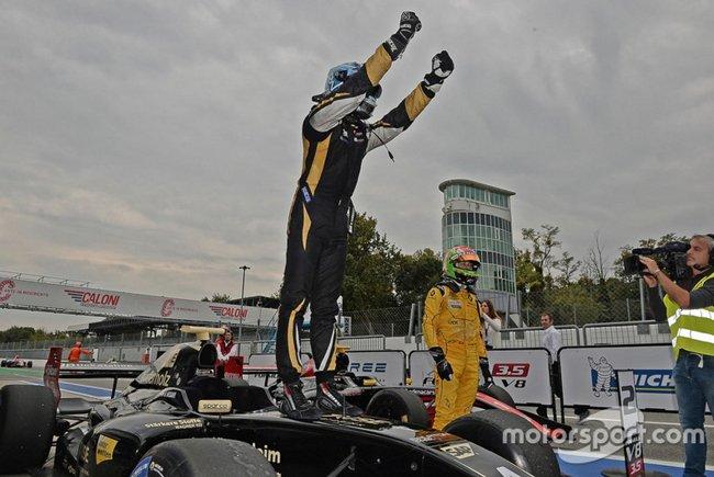 Roy Nissany vainqueur Monza