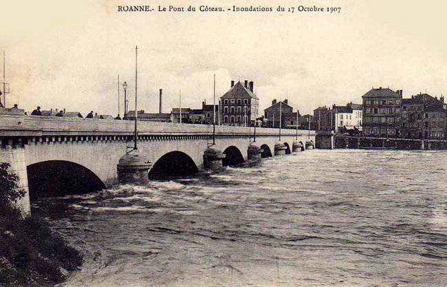made in Roanne inondations 1907